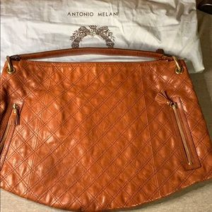 Antonio Melani Brown Handbag